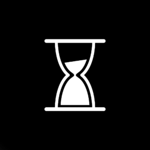 hourglass by Gimzy7 from the Noun Project